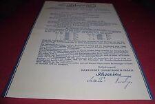Communication alt Publicité offre Phoenix HARBURGER ARTICLES en CAOUTCHOUC Usine 1932 papier