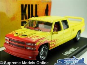 KILL BILL PUSSY WAGON CHEVROLET SILVERADO MODEL CAR 1:43 SCALE GREENLIGHT K8