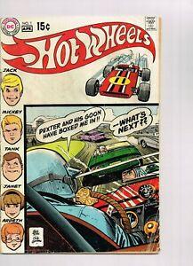 Hot Wheels #1 DC Comics 1970 rare HTF good shape 1st hot wheels club