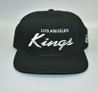 Los Angeles Kings Reebok NHL Script Men's Snapback Cap Hat