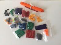 Mixed Bundle Pack Of Mini Knex MICRO Parts. Cogs, Rods, Bricks, Connectors, etc.