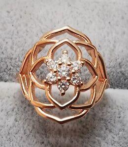 Pandora 189412C01 Rose Petals Statement Ring Größe 58  ALE MET