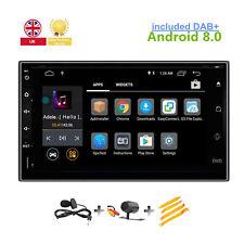Android 8.0 Car GPS SAT NAV DAB+ For Nissan Micra Juke Qashqai Navara X-TRAIL UK