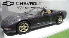 CHEVROLET CORVETTE Cabriolet 1998 violet 1/18 UT Models 21010 voiture miniature