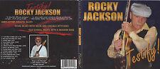 ROCKY JACKSON Testify CD OOP BLUES GUITAR