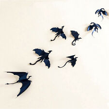 Gift Decoration 7pcs/set DIY Fantasy Gothic Dragons Sticker 3D Wall Sticker
