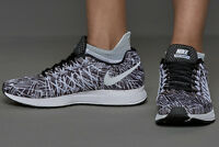 NIKE AIR ZOOM PEGASUS 32 PRINT Running Trainers Shoes UK 7.5 (EU 42) Black White