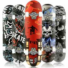 Skateboard Komplettboard 79x20cm Holzboard Kinder Funboard mit ABEC-7 Kugellager