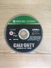 Call of Duty World at War (Clásicos) para Xbox 360 * disco solamente *