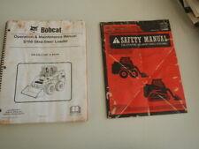 Bobcat  S160  Skid Steer Loader Operation Manual & Safety Manual