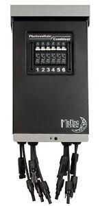 MidNite Solar MNPV6-MC4-LV Pre-Wired Combiner 3R with 15A Circuit Breakers