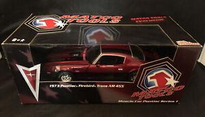 Rare !!!!1/18 RACING CHAMPIONS MATCO TOOLs 1973 Pontiac Firebird Trans AM 455