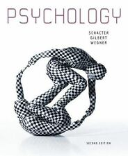 Psychology by Daniel M. Wegner, Daniel L. Schacter and Daniel T. Gilbert (2010,