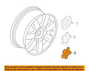 FORD OEM Wheels-Center Cap 5T5Z1130AA