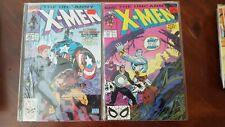 UNCANNY X-MEN LOT #248 & 268 WOW!!