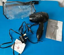VISIQ compact hairdryer Model H0015 With Instructions and Case