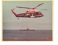Kaman SH2 Seasprite H2 Navy Helicopter Photograph 8x10 Color
