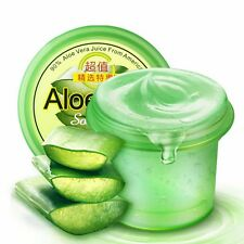 NEW Soothing Moisture 90% Aloe Vera Gel Remove Acne Nourish Cream Face Skin Care