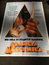 A Clockwork Orange Italian 2 Piece Movie Poster ORIG 1972 Stanley Kubrick