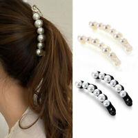 1Pc Hairpins Hair Jewelry Banana Clips Headwear Women Girl Ponytail Fashion Clip