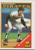 Al Pedrique All Star Rookie 1988 Topps Baseball Card #294 Pittsburgh Pirates