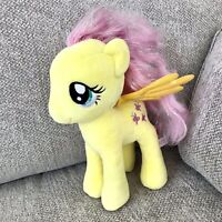 "My Little Pony TY Sparkle Plush Yellow Fluttershy Large 11""Soft Toy UK SELLER."