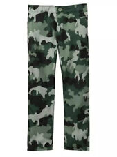 $58 Hurley Supersuede Pants Boy's Size 12 Camo Green 981552-E1X NWT