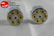Custom Gun Cylinder Barrel Six Shooter 44 Revolver Dash Knobs Truck Hot Rat Rod