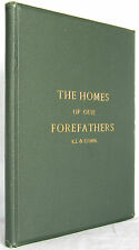 Homes Of Our Forefathers Whitefield RHODE ISLAND CONNECTICUT ARCHITECTURE 1882