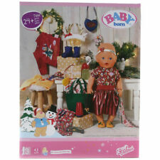 Baby Born 24 Piece Festive Gift Set with Clothing & Accessories for Baby Dolls