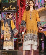 Pakistani designer Lime Light Kurta size Medium