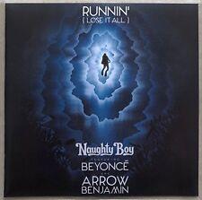 NAUGHTY BOY ft BEYONCE & ARROW BENJAMIN * RUNNIN' (LOSE IT ALL) * UK 1 TRK PROMO