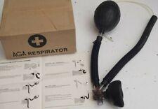 Inhalator Beatmungsset  Pumpe Poppers  Gummischlauch  Gasmaske  Latex  Fetisch