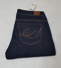 NWT X2 Express Women´s Dark Wash Slim Low Rise Flare Leg Jeans, Size 4 Short