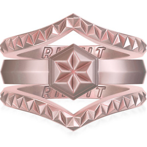 Silicone wedding rings for women by Rinfit™ -  Thin and Stackable Wedding  Bands