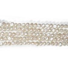 Freshwater Pearl Baroque Potato Beads 6-7mm Pale Cream 55+ Pcs Art Hobby Crafts