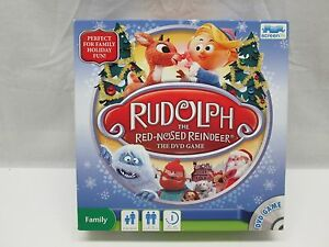 Rudolph The Red-Nosed Reindeer DVD Board Game by Screen Life Complete