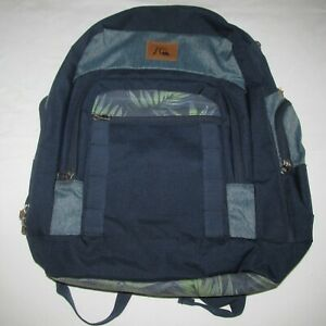 QUICKSILVER Backpack - Navy with Pattern