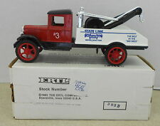STATE LINE AUTO AUCTION #3 WAVERLY NY 1931 HWK WRECKER TOW 1993 ERTL BANK #4586