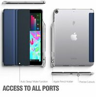 Poetic Lumos X Navy Blue TPU Case【with Pencil Holder】For Apple iPad 9.7 2018