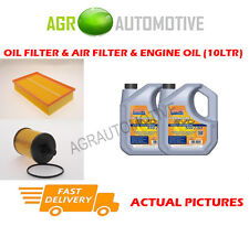 DIESEL OIL AIR FILTER + LL 5W30 OIL FOR VOLKSWAGEN CARAVELLE 2.5 131BHP 2003-09