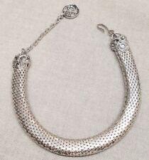Vintage Whiting & Davis Choker Necklace San Marc Ven Dalma BT Alban