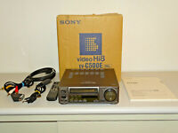 Sony EV-C500 High-End Hi8 Videorecorder in OVP w.NEU, FB&BDA, 2 Jahre Garantie