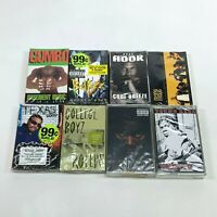 Lot 8 Cassette Tapes 90s Rap Hip Hop Gumbo Bad Azz Mase Cool Breeze Pistol [NEW]
