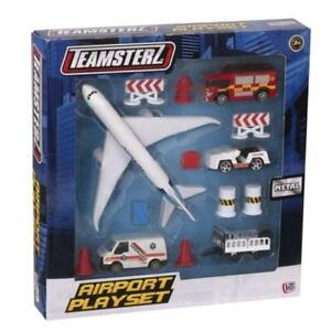 Teamsterz Airport Play Set Metal Playset Toy