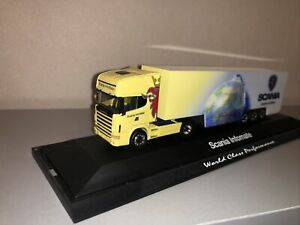 Herpa 1:87 Scania Topline Infomate in PC Box