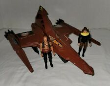 Vintage 1979 RARE Mego Buck Rogers Draconian Marauder ship and 2 figures