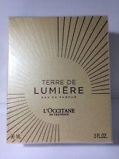 L'OCCITANE Terre de Lumiere eau de Parfum 3oz Perfume Spray 90mL Sealed Box