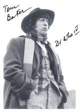 More details for tom baker signed the 4th dr bbc doctor who autograph postcard undedicated