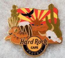 HARD ROCK CAFE PHOENIX ALTERNATIVE CITY MAGNET WITH CACTUS SNAKE DRUM BULL SKULL